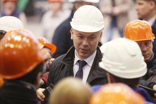 Врио главы Новосибирской области намерен участвовать в выборах губурнатора
