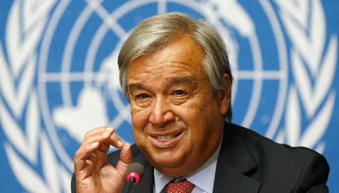 Генсек ООН трус и подлец