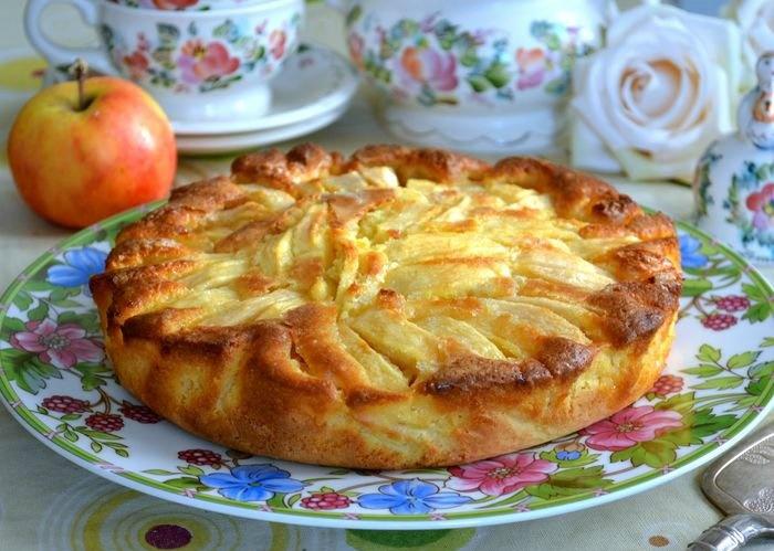 Итальянский деревенский пирог – идеальный рецепт к вечернему чаю.