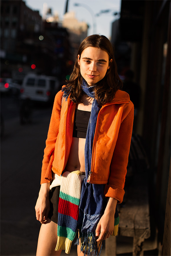 On the Street…Lafayette St, New York