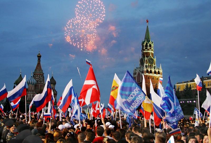 Путин примет участие в праздновании Дня Города