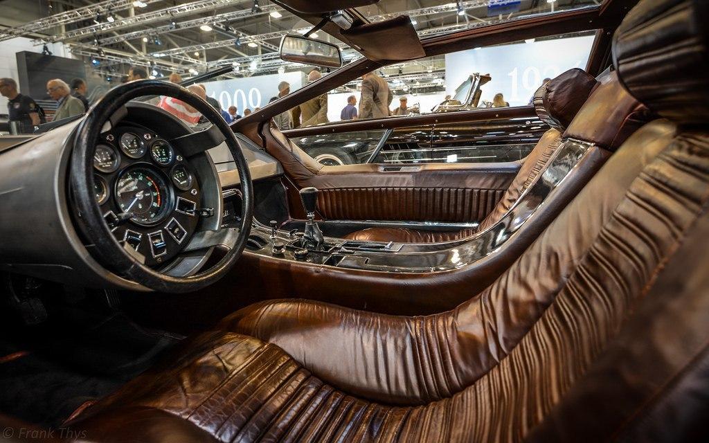 Интерьер Maserati Boomerang