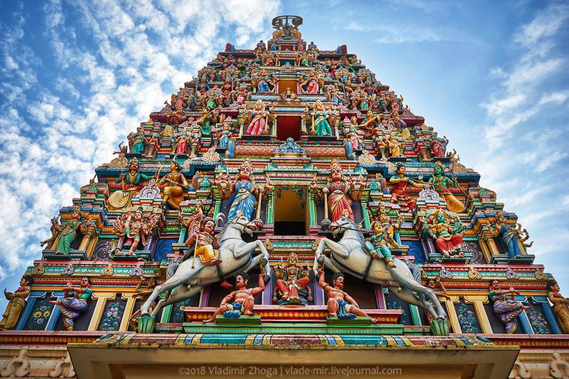Шри Махамариамман — самый крутой индуистский храм в Куала-Лумпуре