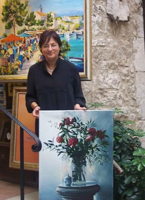Современная итальянская художница Danka Weitzen