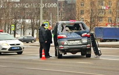 Семеро детей пострадали в ДТП с автобусом на юге Москвы