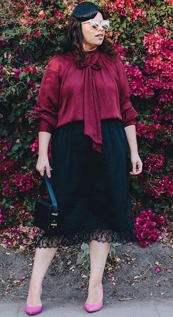 Мода для полных женщин на весну и лето 2018 (фото, видео)