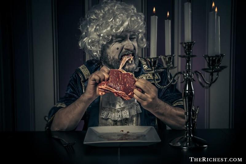 1. Неаппетитные пищевые привычки Георгианская эпоха, англия, британия, великобритания