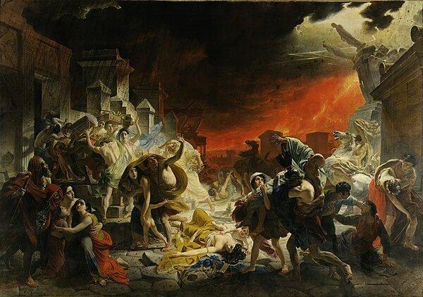 «Последний день Помпеи»: все тайны картины Карла Брюллова