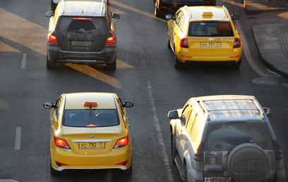 В Москве разгорелся конфликт между таксистами и агрегаторами приема заказов