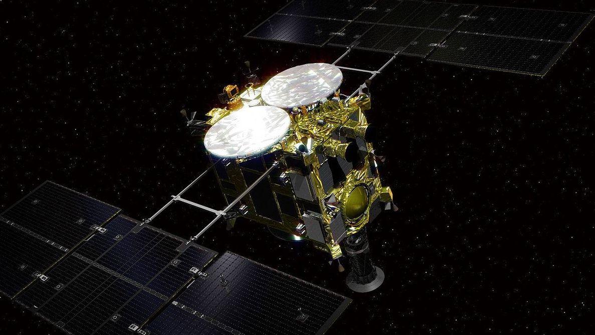 Японский космический корабль…