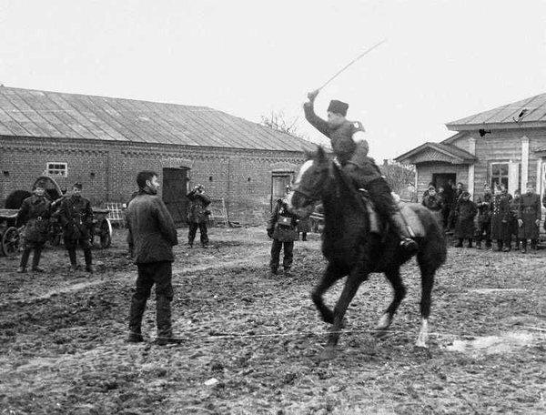 Как казаки издевались над че…