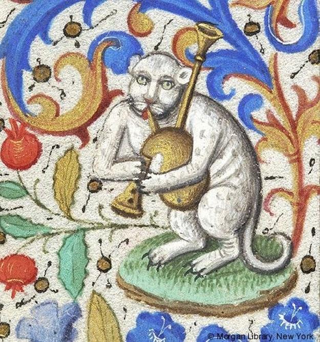 Уродливые коты на средневековых картинах, и это забавно