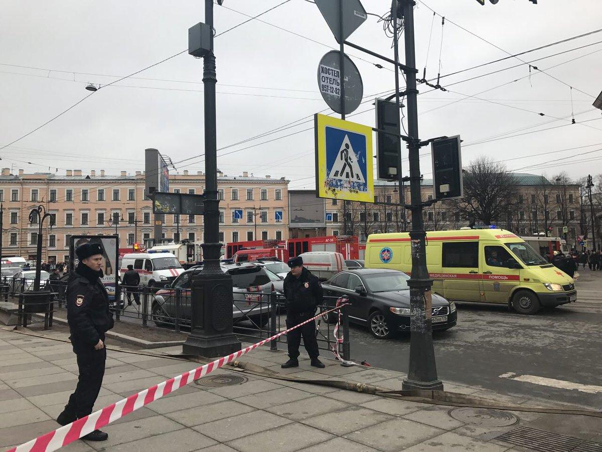 Взрыв в Санкт-Петербурге — Сводные данные