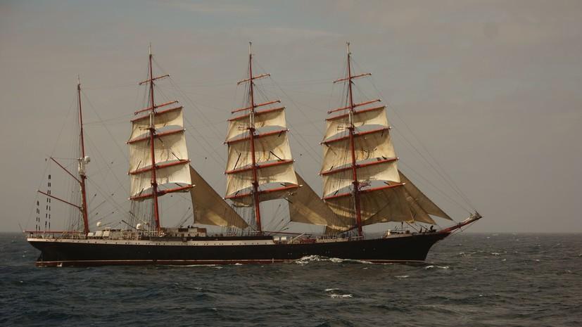 «Здесь ты моряк — и ничего больше» - фильм RTД о сложностях и радостях жизни на легендарном «Крузенштерне»