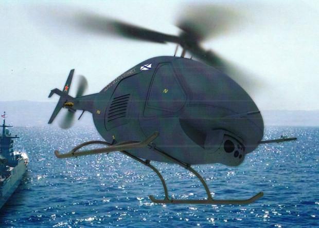 Для российского флота разработают беспилотный вертолет