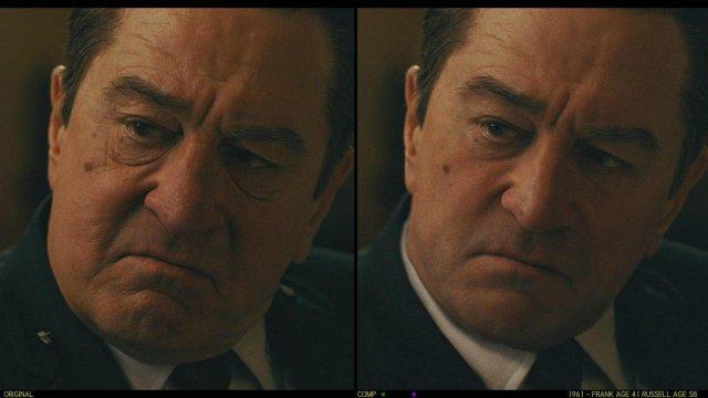 Актеры фильма «Ирландец» до и после компьютерного омоложения