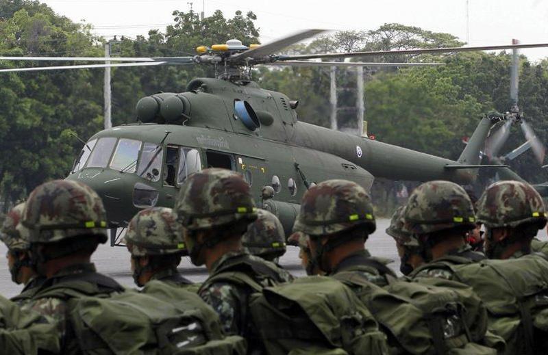 Армейская авиация Таиланда заказала очередные два вертолета Ми-17В-5