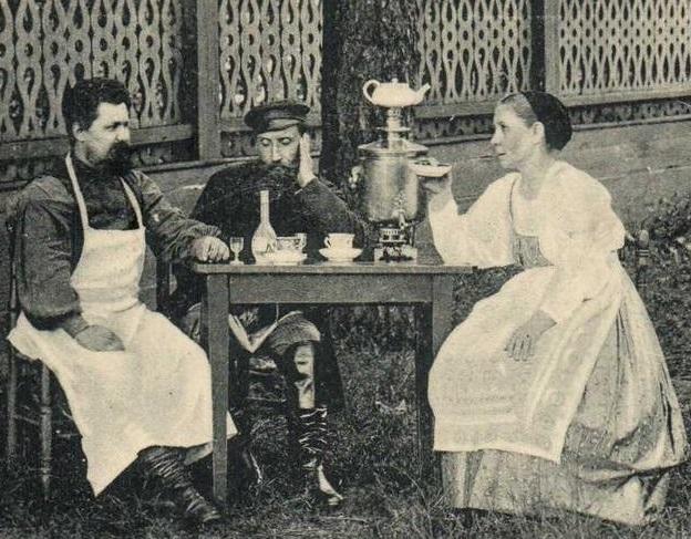 У кого русские научились пит…