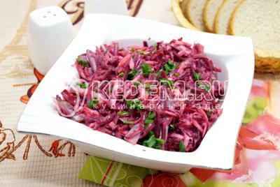 Салат со свеклой «Агата»