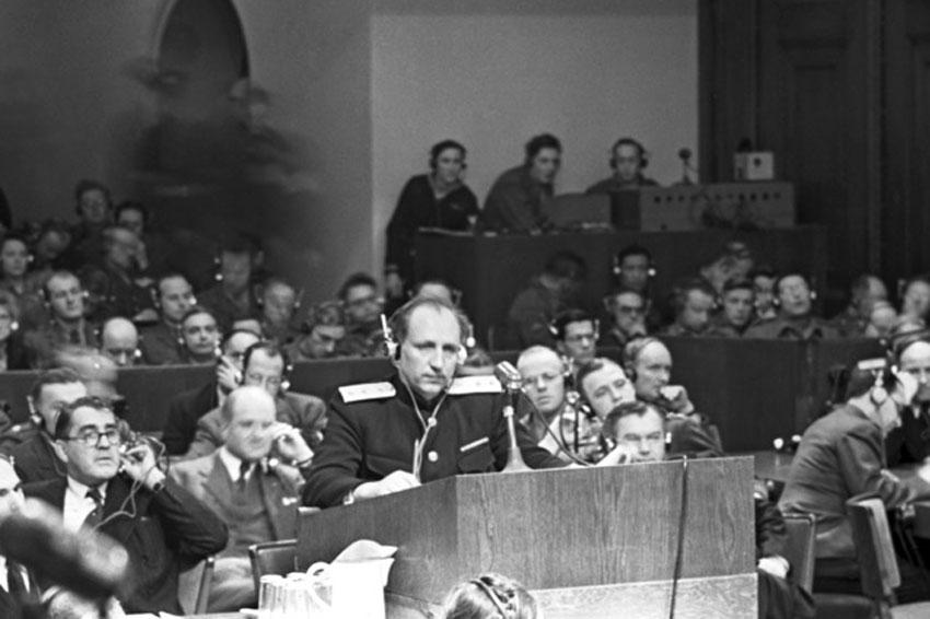 Наказание нацистской немецкой нации по итогам войны