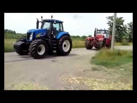 Трактор против ВСЕХ