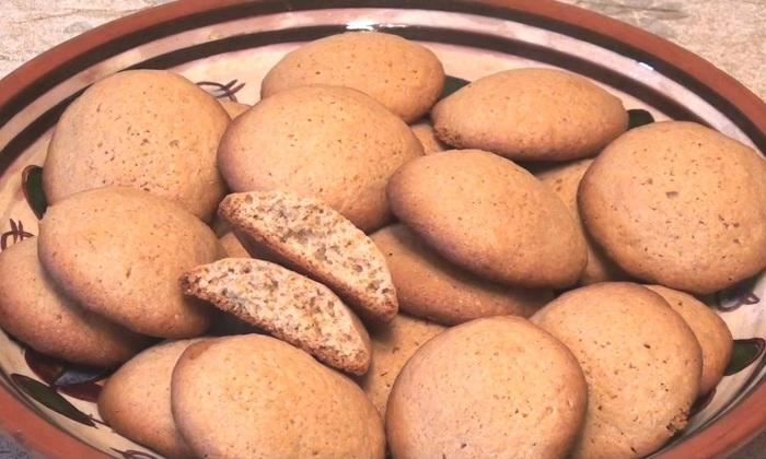 Хрустящее овсяное печенье Рецепт, Видео, Видео рецепт, Кулинария, Десерт, Выпечка, Печенье, Длиннопост