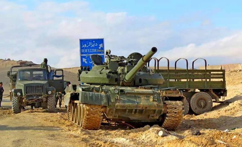 Военная обстановка в Сирии: конфликт в рядах сирийских сил