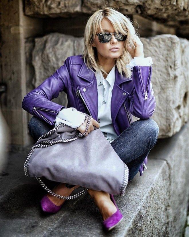 Фиолетовый хит сезона 20 лучших образов в оттенках фиолетового