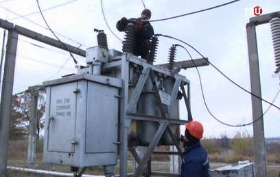 В большинстве районов Луганска восстановлено электроснабжение