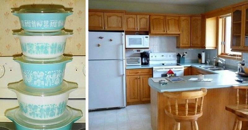 Она нашла блюдо, сделанное в 1950-х. Теперь кухню не узнать!
