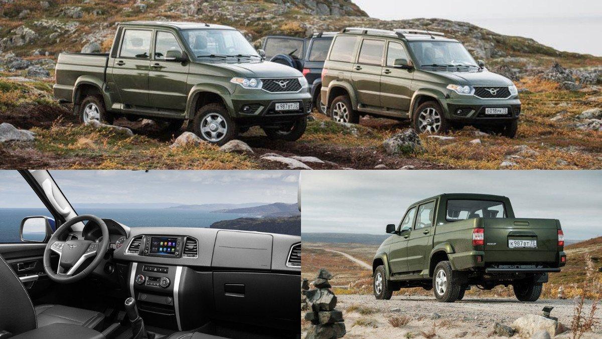 Все модели автомобилей компании УАЗ подорожали на десятки тысяч рублей