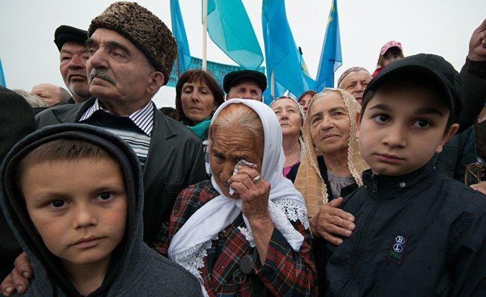 Крымские татары Херсонской о…