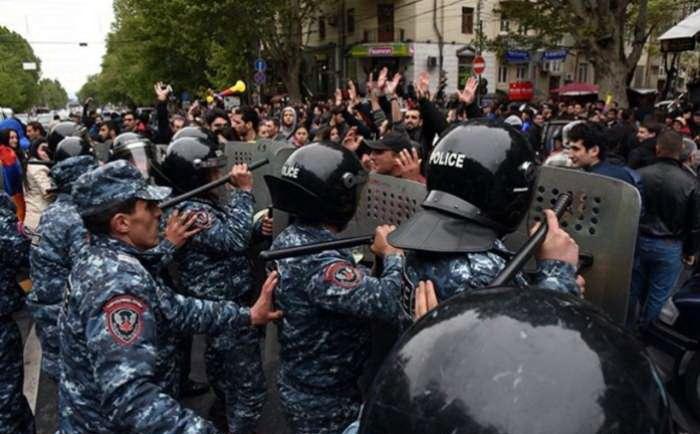 Сегодняшняя ситуация в Армении.