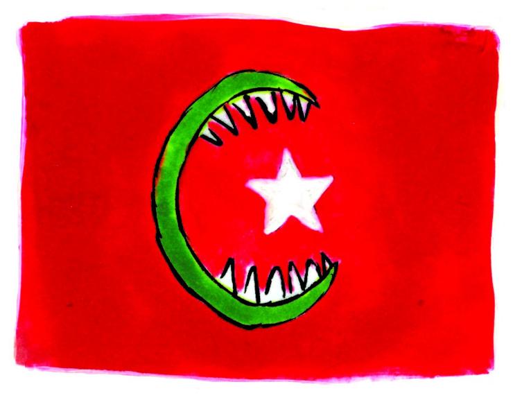 Новая порция карикатур от Charlie Hebdo: Ницца, PokemonGo и глупый Эрдоган