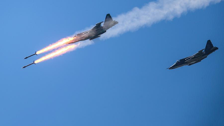 В Сирии погиб российский летчик.