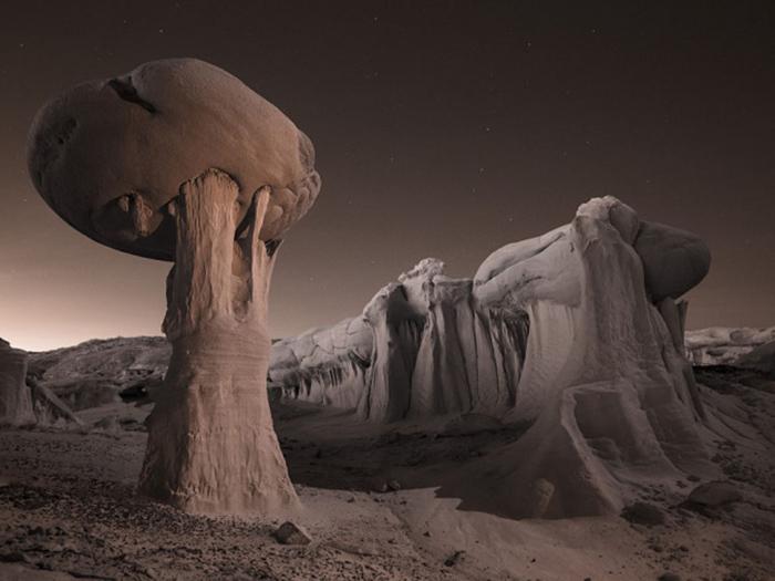 Удивительный заповедник А-Ши-Сле-Па с марсианским пейзажем
