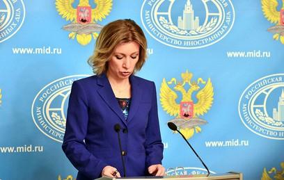 Захарову удивили слова Мэттиса о мандате на присутствие США в Сирии