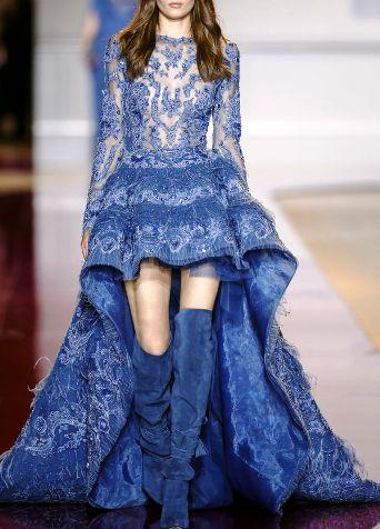 Zuhair Murad Haute Couture осень-зима 2016-2017 —  роскошные и весьма откровенные наряды