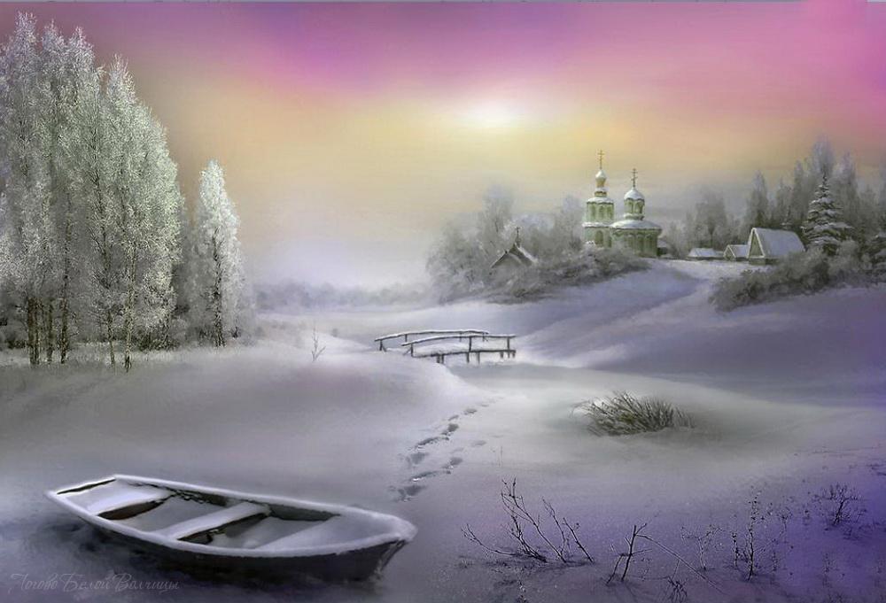 Царство белых фантазий. Фотохудожник Игорь Зенин