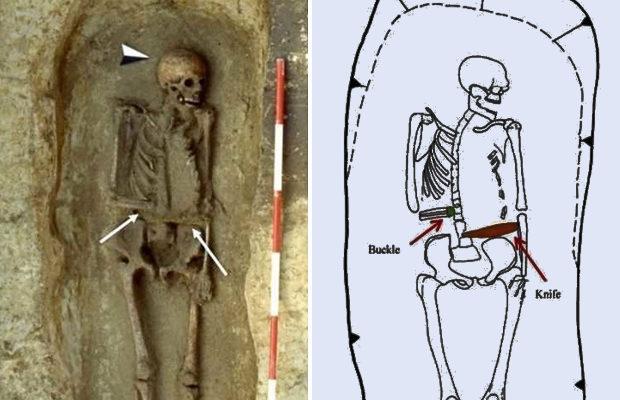 В Италии раскопали средневекового киборга с ножом вместо руки