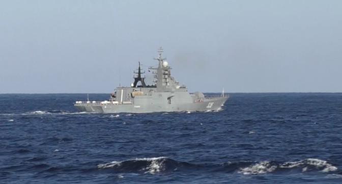 Новый корвет «Громкий» - защита России в Японском море