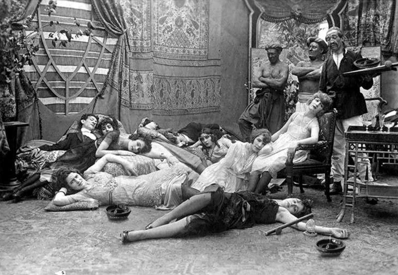 16. Опиумная вечеринка, 1918 год. история, фото
