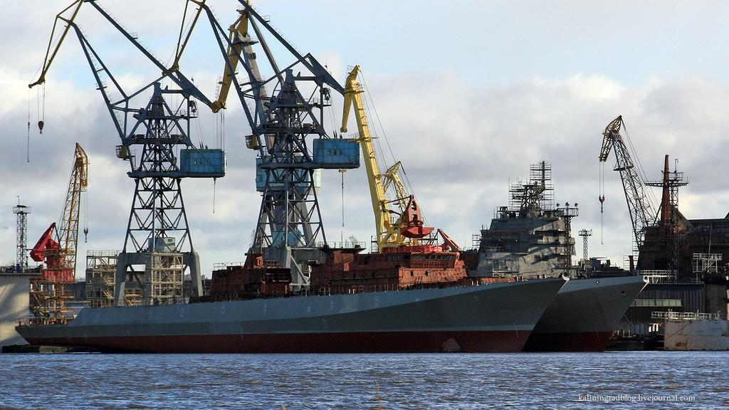 Готовится подписание с Индией контракта на четыре фрегата проекта 11356