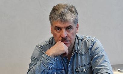 Российские фермеры отказались считать Грудинина своим коллегой