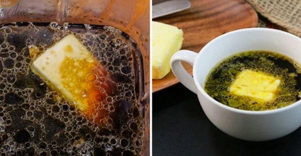 Кофе + масло = новое сильное сочетание.