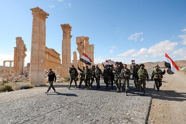 Еще Сирия не пала…