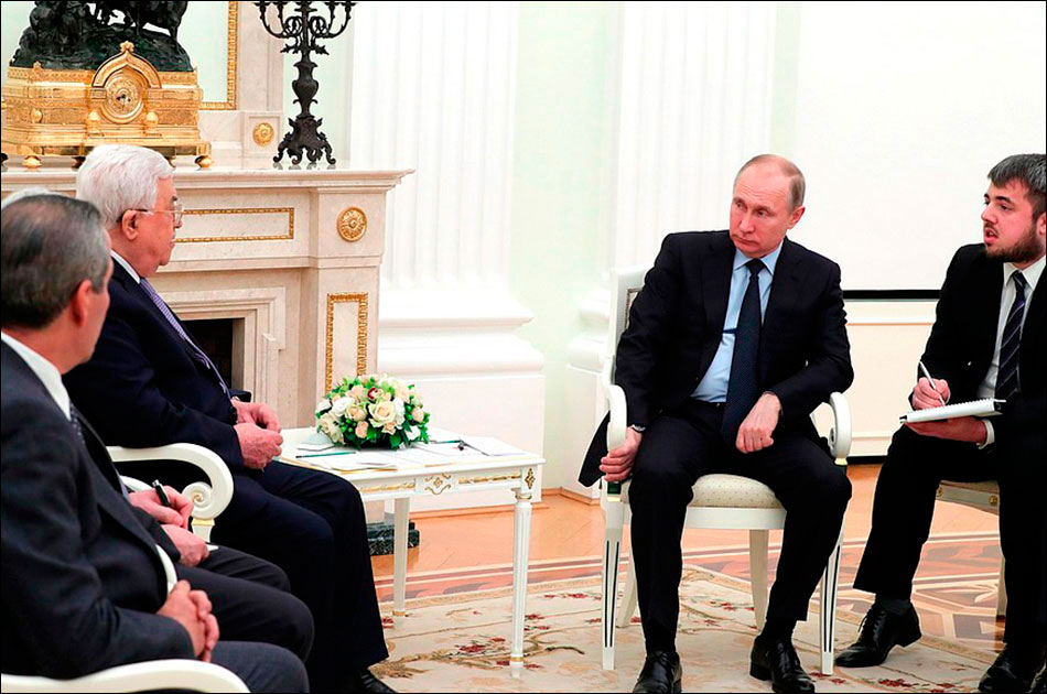 Аббас наябедничал Путину на Трампа