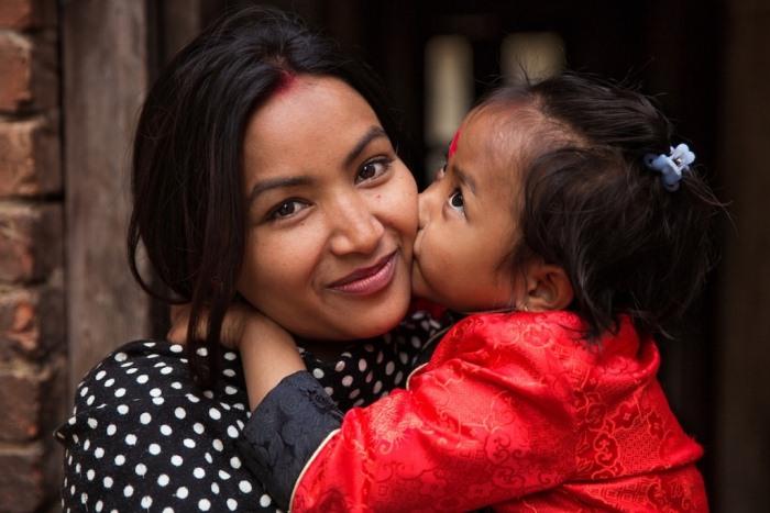 Мамы и их дети в популярном фотопроекте «Атлас красоты»