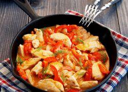 Паприкаш из курицы - рецепт
