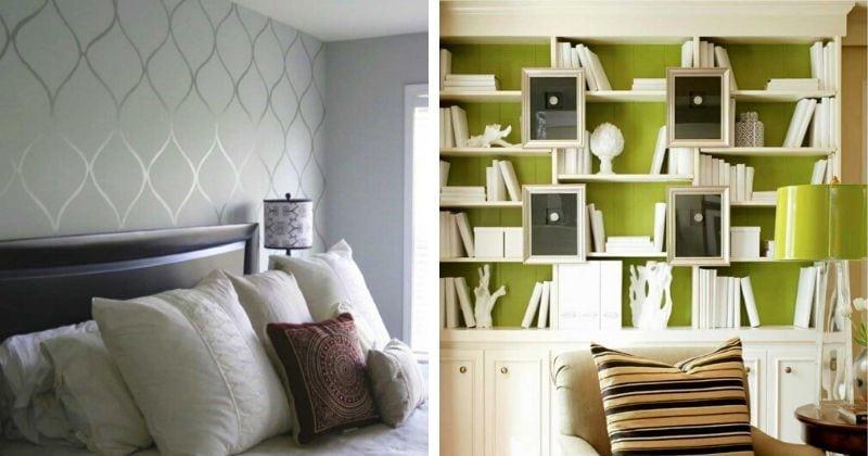 14 стильны и красивых акцентных стен, которые вам понравятся
